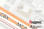 Схема проезда до компании Nova Tour в Москве