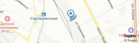 ТОС на карте Москвы