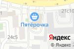 Схема проезда до компании ВидеоАкцент в Москве