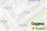 Схема проезда до компании АвтоВольт в Москве