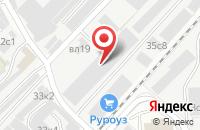 Схема проезда до компании Гаммагрупп в Москве