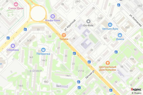 Ремонт телевизоров Улица Мира на яндекс карте