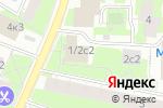 Схема проезда до компании MRD BUILDING в Москве