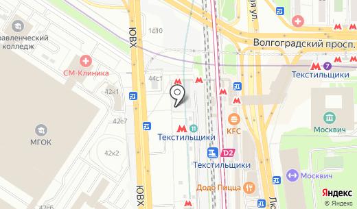 Магазин хозяйственных товаров. Схема проезда в Москве