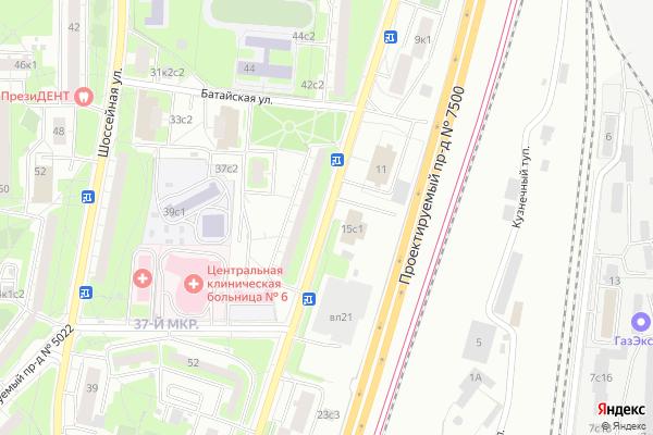 Ремонт телевизоров Улица Полбина на яндекс карте