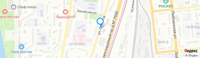 улица Полбина