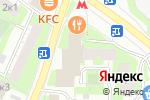 Схема проезда до компании Красная Заря в Москве