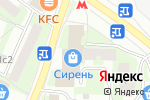 Схема проезда до компании MIX markt в Москве