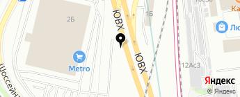 Мой АКБ на карте Москвы