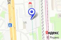 Схема проезда до компании ТФ ЭРГОЛАЙН в Москве