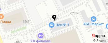 Авто Фактор на карте Москвы