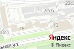 Схема проезда до компании JACKLIN в Москве