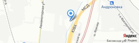 Руствест-НГ на карте Москвы