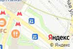 Схема проезда до компании Реальная оптика в Москве