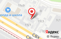 Схема проезда до компании Планета-Принт в Москве