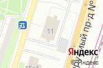 Схема проезда до компании АтлантикТрансгазСистема в Москве