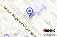 Схема проезда до компании ТФ ЛАЗУРИТ в Москве