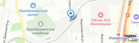 Чистый воздух на карте Москвы
