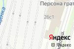 Схема проезда до компании Помоги детям в Москве