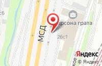 Схема проезда до компании Успех в Москве