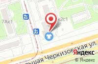 Схема проезда до компании Аксиома М в Москве