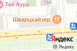 Схема проезда до компании Ателье по пошиву одежды в Москве