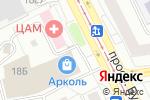 Схема проезда до компании Домашняя кухня в Москве