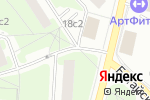 Схема проезда до компании Русский холод в Москве