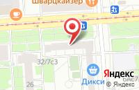 Схема проезда до компании Нива в Москве