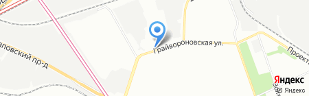 Уютный Гараж на карте Москвы
