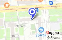 Схема проезда до компании МЕБЕЛЬНЫЙ МАГАЗИН ОНИКС в Москве