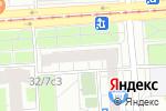 Схема проезда до компании Барбос в Москве