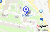Схема проезда до компании МЕБЕЛЬНЫЙ САЛОН КОМЕЛЬ в Москве