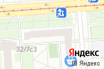 Схема проезда до компании Крутой берег в Москве