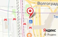 Схема проезда до компании Контстрой в Москве