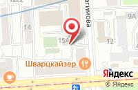 Схема проезда до компании Креативное Бюро Алексея Соловьева в Москве