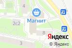 Схема проезда до компании Агентство делового общения в Москве