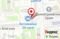 Схема проезда до компании ЖилСтройРесурс в Москве