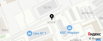 Хороший на карте Москвы