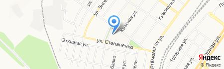 Донецкая общеобразовательная школа I-III ступеней №63 на карте Донецка