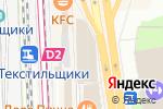 Схема проезда до компании JeansTeam в Москве