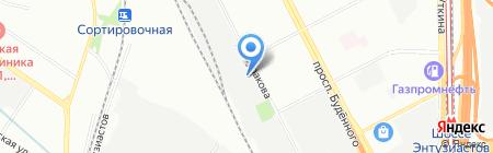 ПаллетШоп на карте Москвы