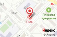 Схема проезда до компании Софис в Москве