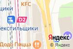 Схема проезда до компании Ого! в Москве