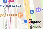 Схема проезда до компании Джинсо-мания в Москве