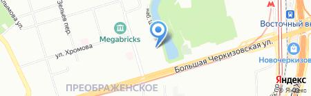 Экоэнергосервис на карте Москвы