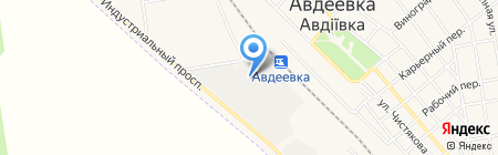 Авдеевский экспериментальный завод нестандартизированного оборудования на карте Авдеевки