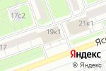 Схема проезда до компании Почтовое отделение №115583 в Москве