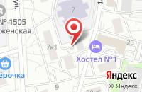 Схема проезда до компании Техмаркет в Москве