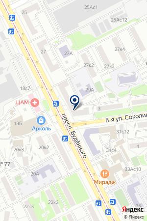 КАФЕ ВАЛЕРИ на карте Москвы